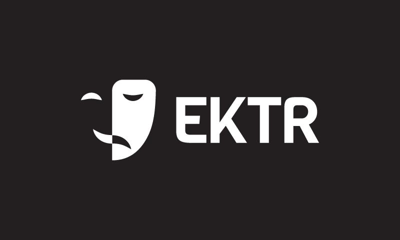 Ektr - Original domain name for sale