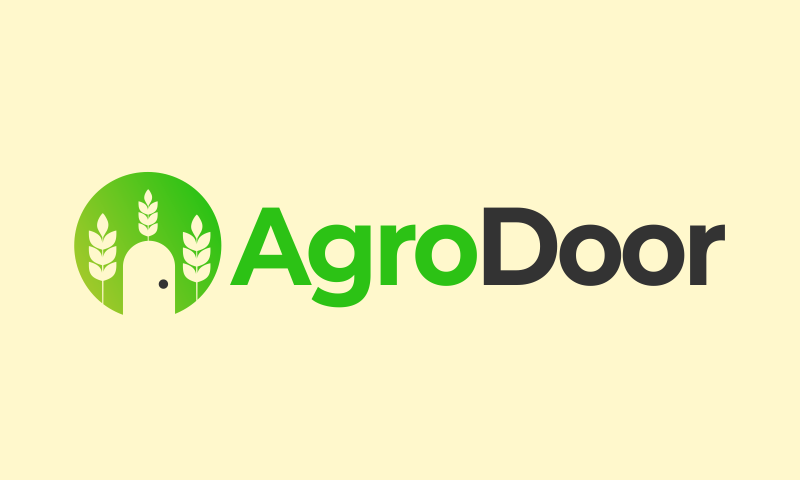 Agrodoor - Agriculture startup name for sale