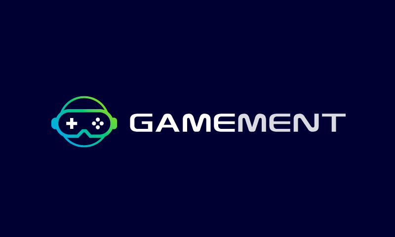 Gamement - Video games business name for sale