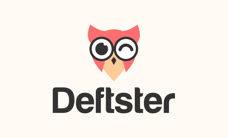 Deftster - Media domain name for sale
