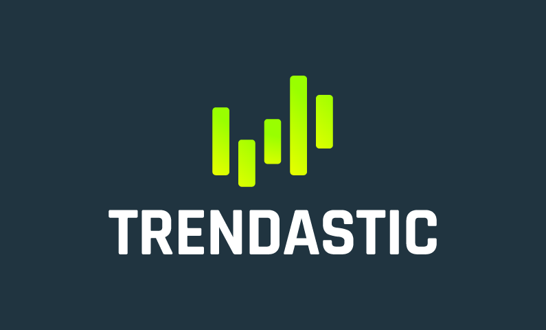 Trendastic - Modern business name for sale