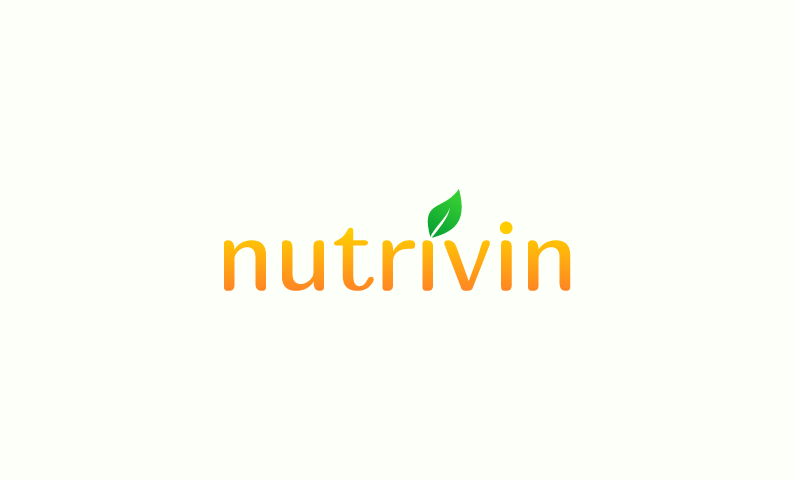 Nutrivin - Nutrition domain name for sale