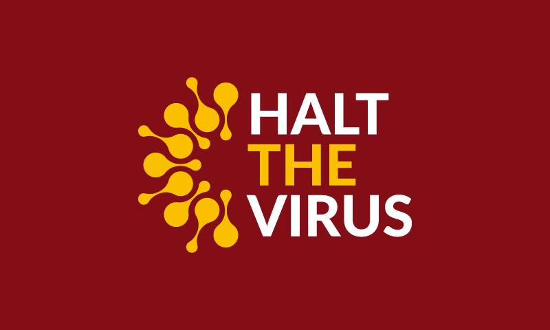 HaltTheVirus logo