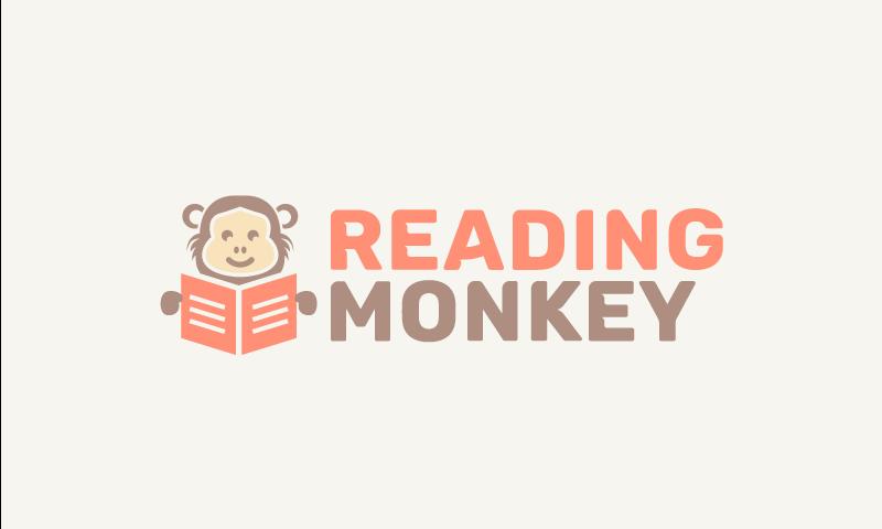 Readingmonkey - E-learning domain name for sale