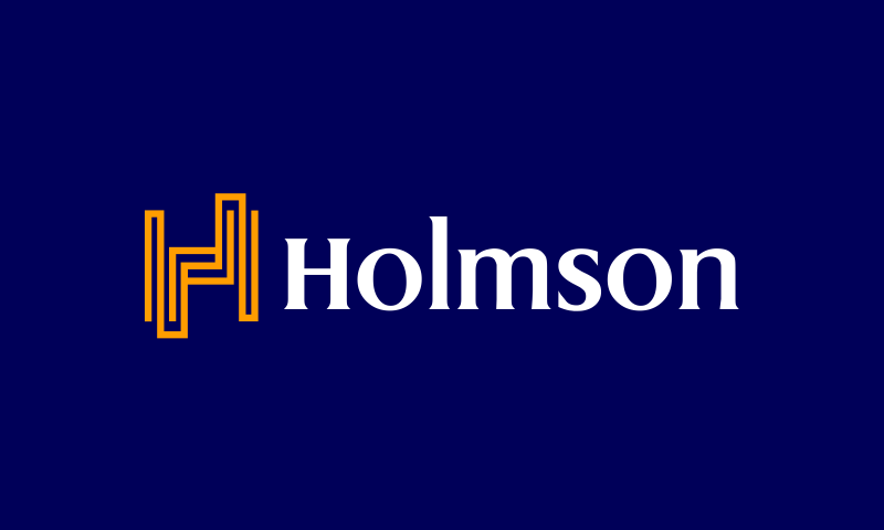 Holmson - Business product name for sale