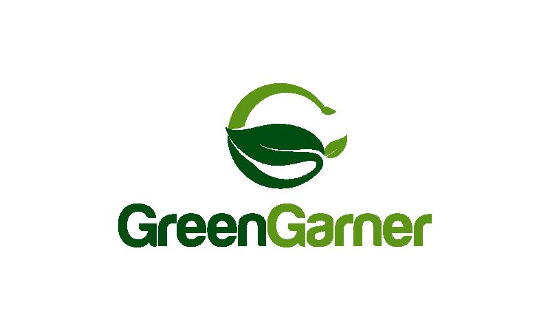 Greengarner - Environmentally-friendly startup name for sale