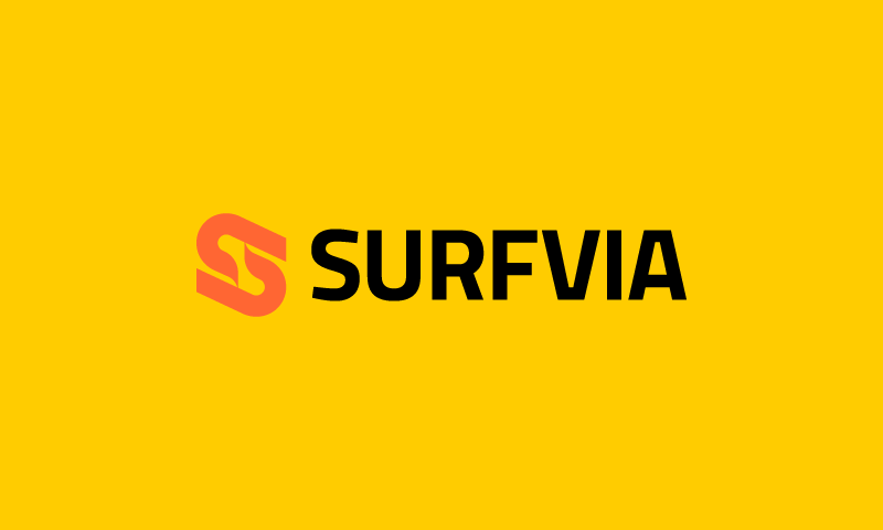 Surfvia - Technology domain name for sale