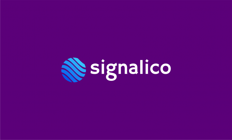 Signalico - Green industry company name for sale
