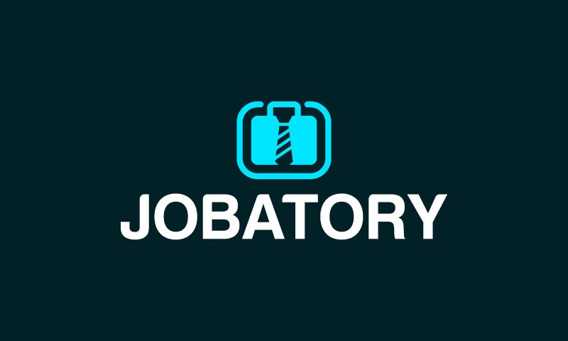 Jobatory - Recruitment brand name for sale