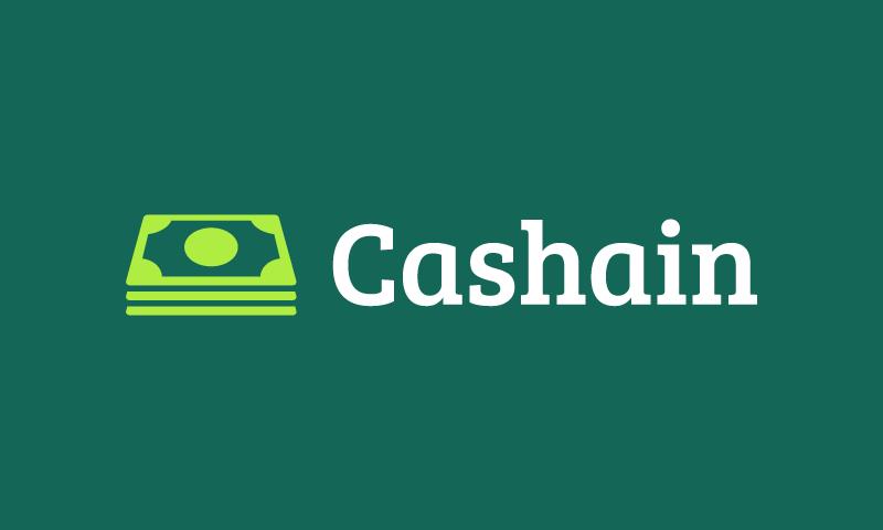Cashain - Finance company name for sale