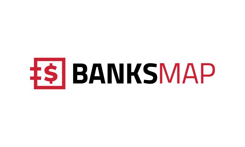 Banksmap - Banking startup name for sale