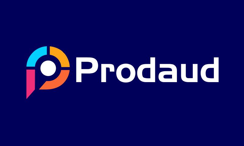 Prodaud - Music brand name for sale