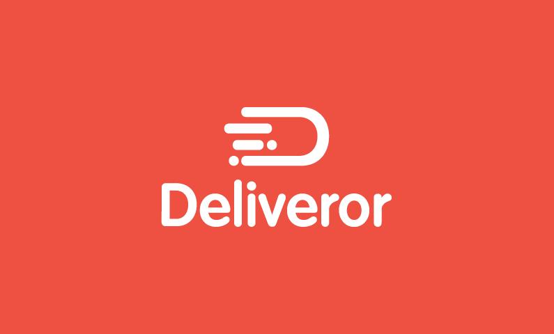 Deliveror - Logistics startup name for sale