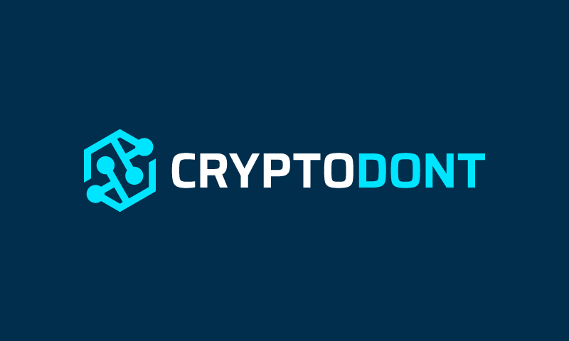 Cryptodont - Cryptocurrency startup name for sale