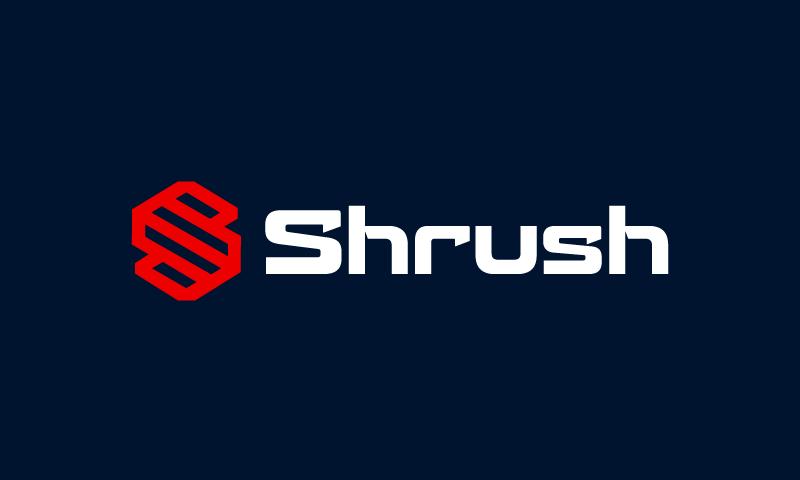 Shrush - Clothing startup name for sale