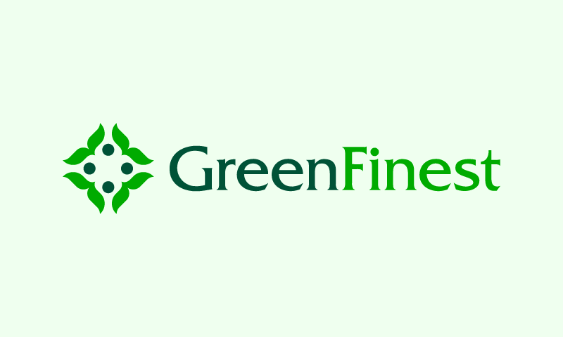Greenfinest - Contemporary brand name for sale