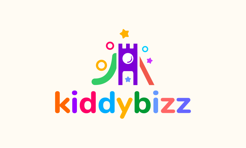 Kiddybizz - Childcare startup name for sale