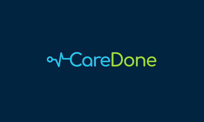 Caredone - Health domain name for sale
