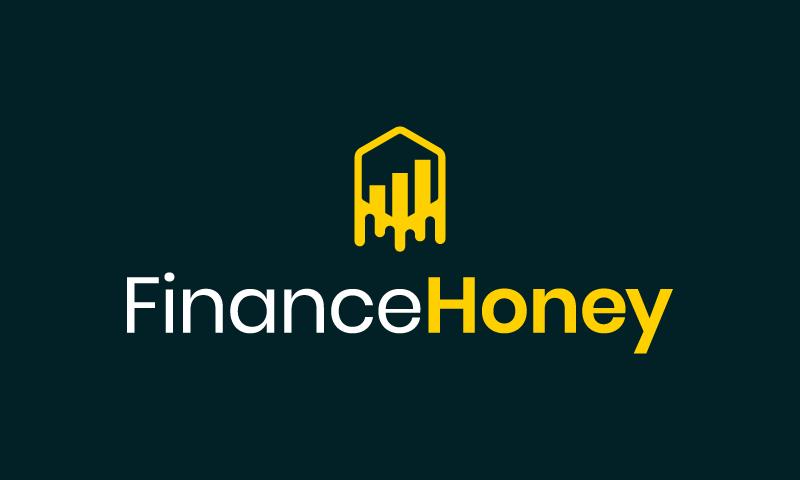Financehoney - Finance domain name for sale