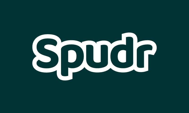 Spudr - Modern startup name for sale