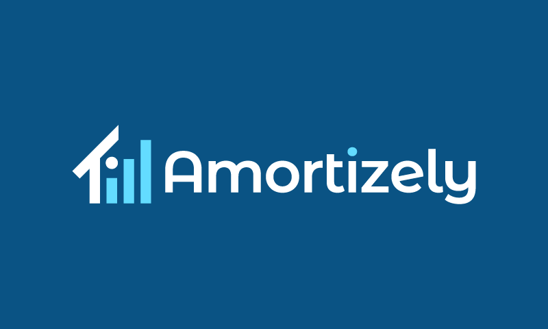 Amortizely - Real estate startup name for sale