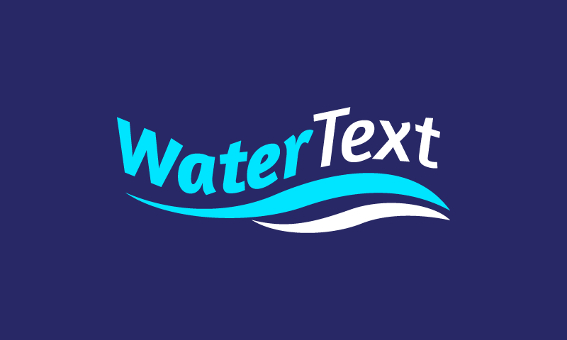 Watertext