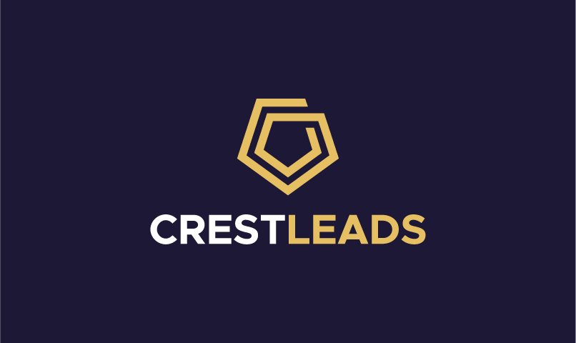 Crestleads - Sales promotion startup name for sale