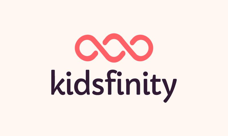 Kidsfinity - Childcare startup name for sale