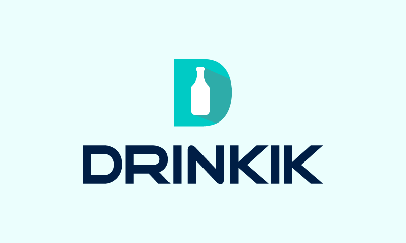 Drinkik - Food and drink startup name for sale