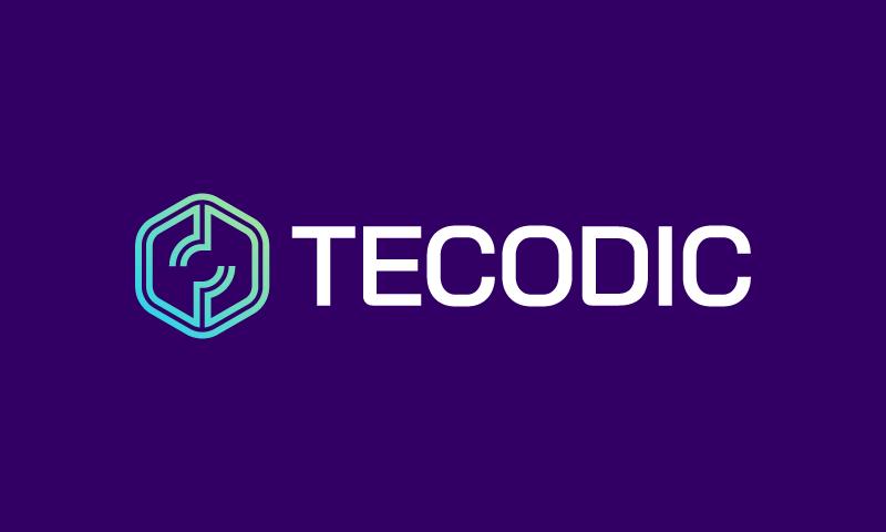 Tecodic - Technology brand name for sale