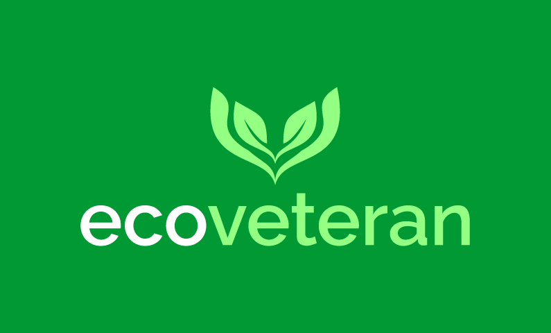 Ecoveteran - Green industry business name for sale