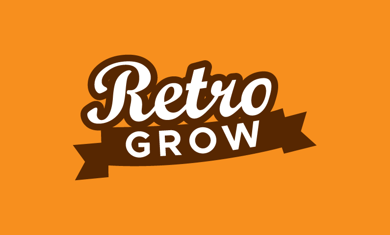 Retrogrow - E-commerce startup name for sale
