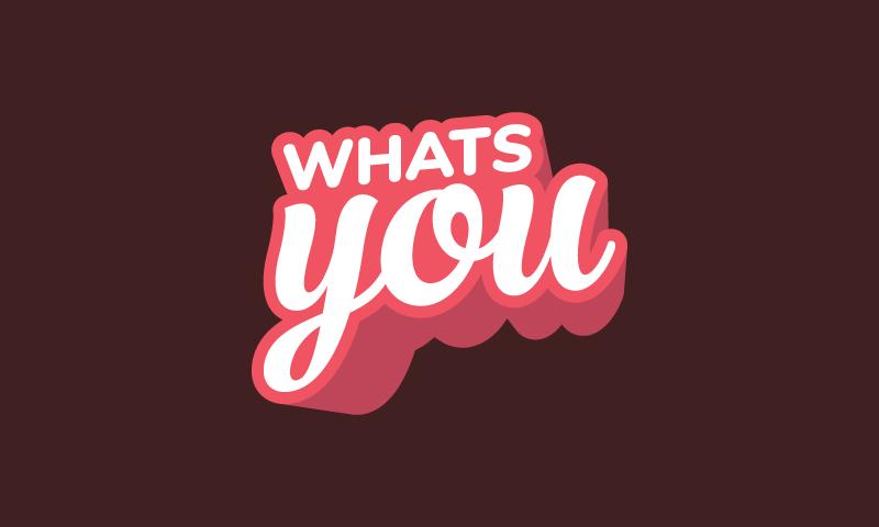 Whatsyou - E-commerce domain name for sale