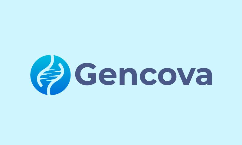 Gencova - Biotechnology brand name for sale