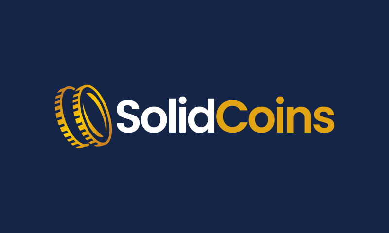 Solidcoins - Cryptocurrency business name for sale