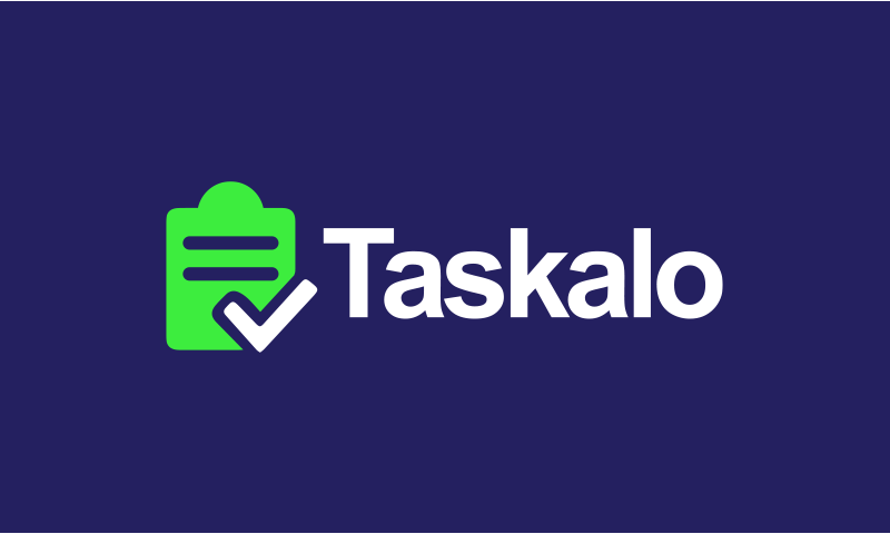 Taskalo - Remote working company name for sale