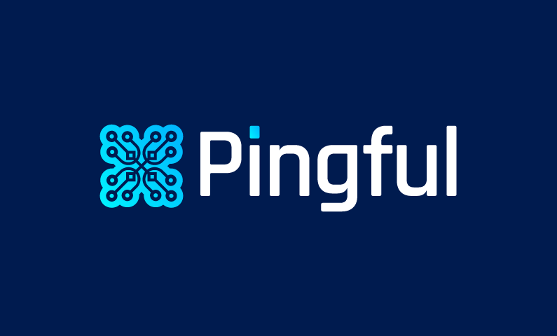Pingful - Internet company name for sale