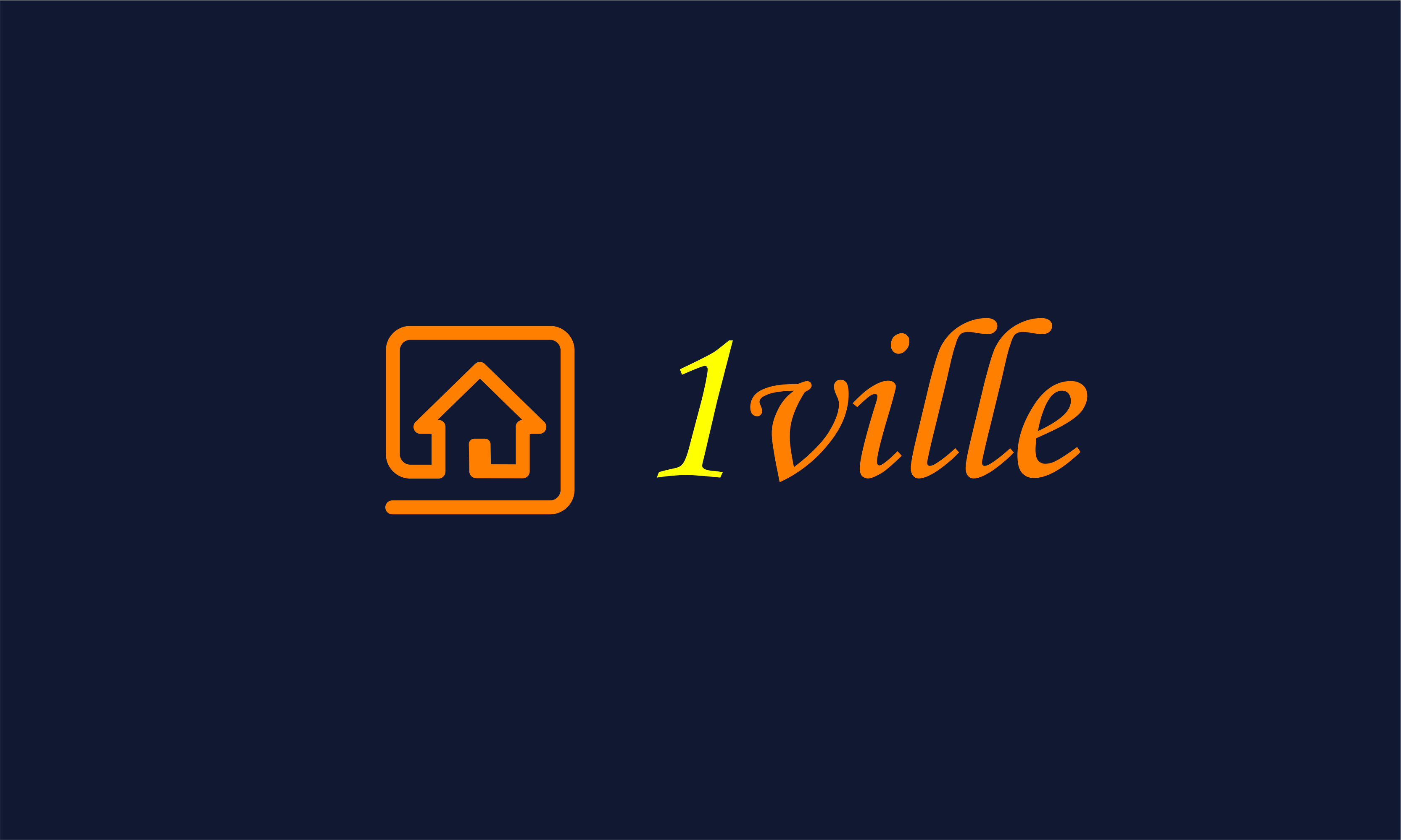 1ville - Business startup name for sale