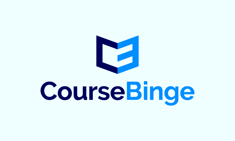 Coursebinge - E-learning product name for sale