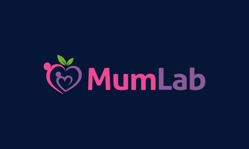 Mumlab - Retail startup name for sale