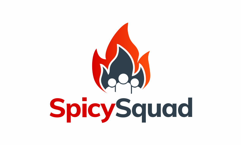 Spicysquad - Fitness domain name for sale