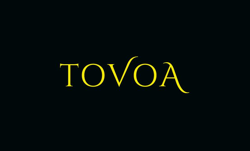 tovoa logo - Clean modern domain