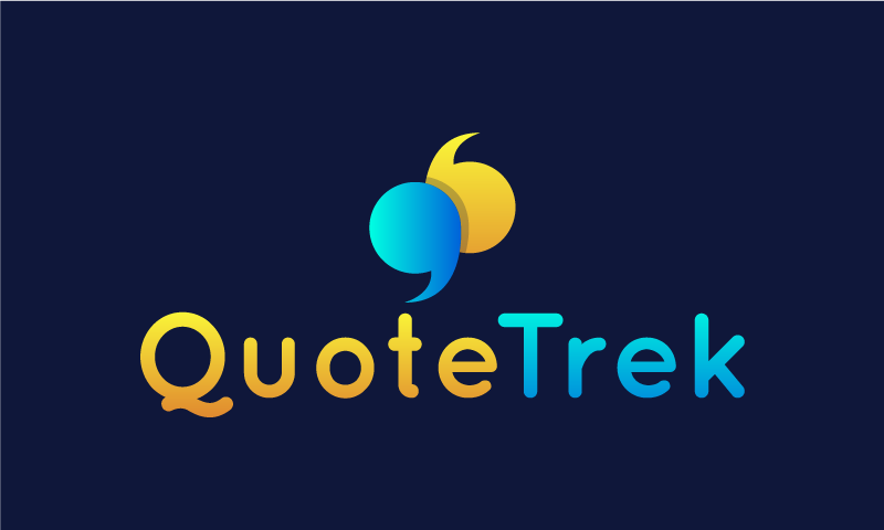 Quotetrek - Business brand name for sale