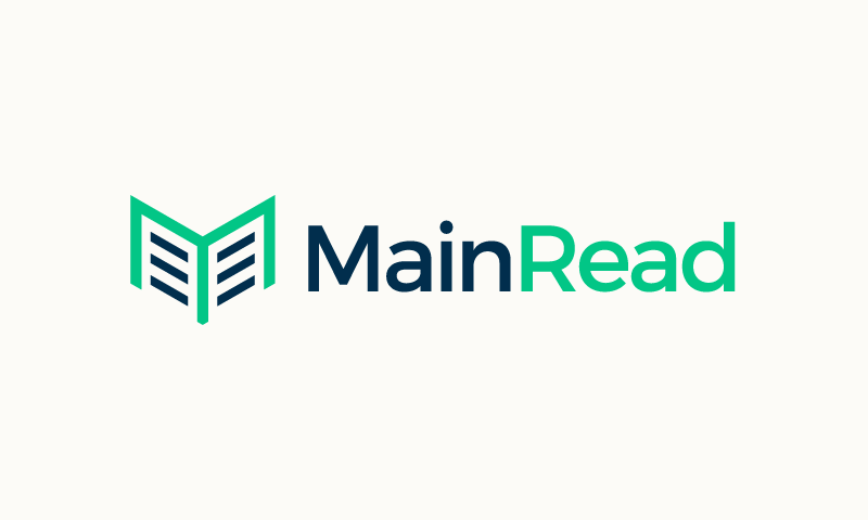 Mainread - Masculine company name for sale