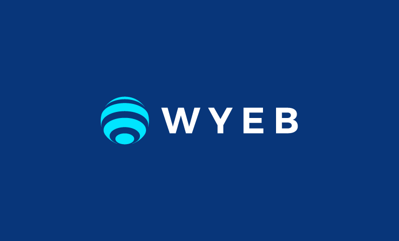wyeb logo - Powerful 4-letter domain name