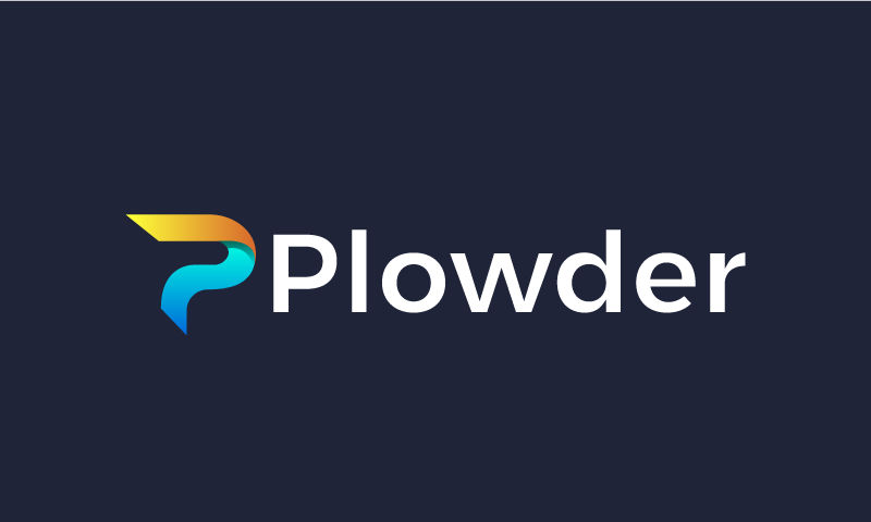 Plowder - Marketing domain name for sale