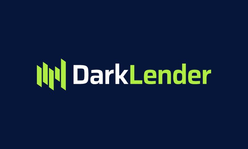 Darklender - Loans brand name for sale