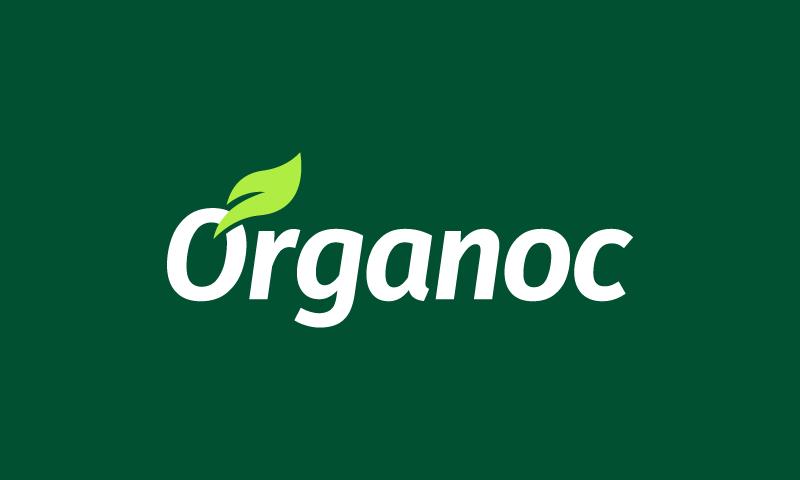 Organoc - Environmentally-friendly brand name for sale