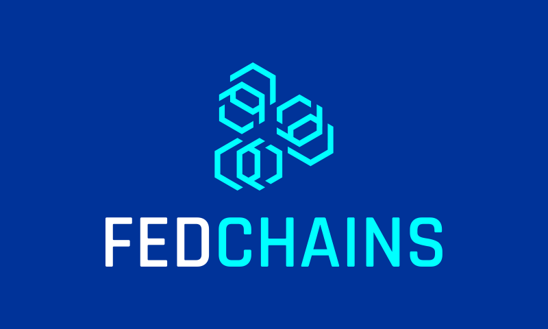 Fedchains - Cryptocurrency company name for sale