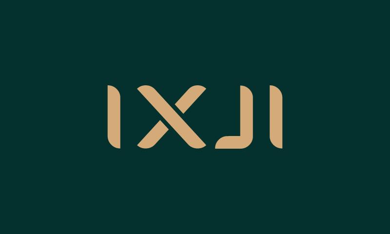 Ixji - Playful startup name for sale